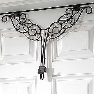 BrylaneHome Adjustable Antler Wreath Hanger - Brown