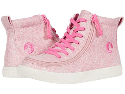 BILLY Footwear Kids Classic Lace High (Little Kid/Big Kid) (Heather Pink) Girl