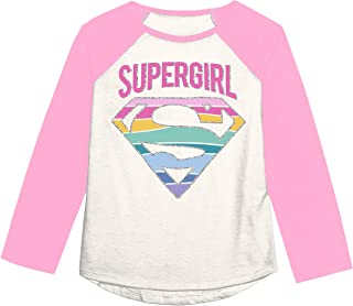 Jumping Beans Toddler Girls 2T-5T Supergirl Rainbow Mix N Match Graphic Tee