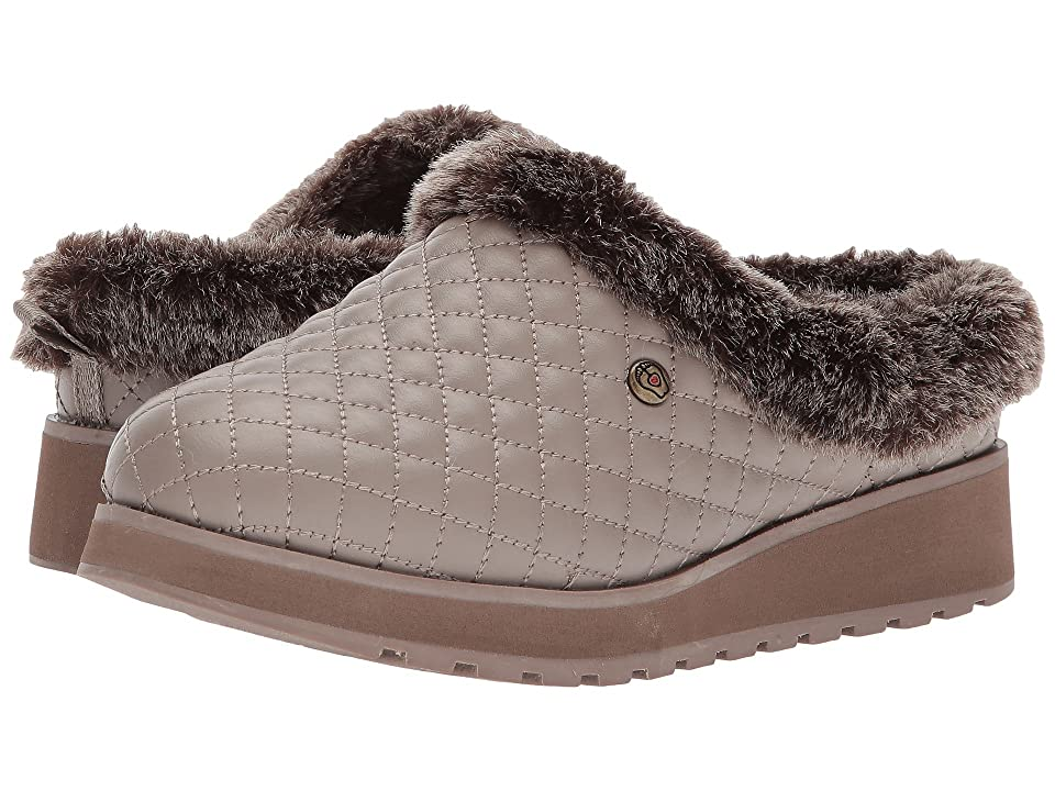 BOBS from SKECHERS Keepsakes High Peak Bluff (Taupe) Women
