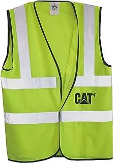 CAT CAT019501L High Visibility Safety Vest ANSI Approved, Large