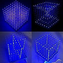 Arduino 8x8x8 led Cube (Blue) by HYGO FIVE