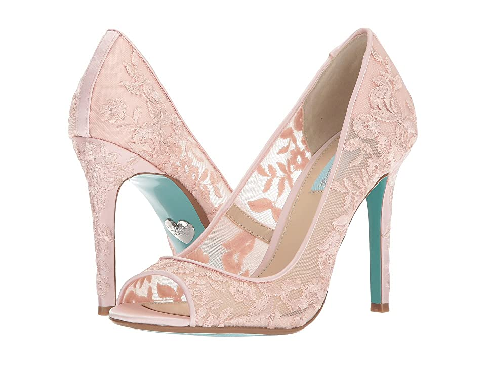 Blue by Betsey Johnson Adley (Blush) High Heels