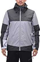 Little Donkey Andy Men's Waterproof Breathable Jacket Outdoor Shell Rain Coat for Hiking, Travel, Skiing