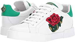 Dolce & Gabbana - Sneaker with Sequin Rose