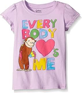 Curious George Little Girls' Toddler Short Sleeve T-Shirt