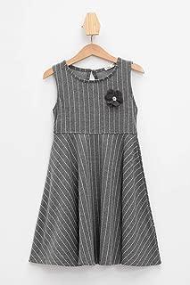 DeFacto Çizgili Slim Fit Elbise