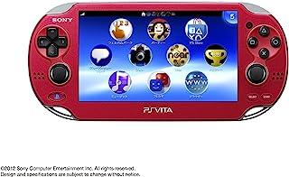 PlayStationVita Wi-Fiモデル コズミック・レッド (PCH-1000 ZA03) 【メーカー生産終了】
