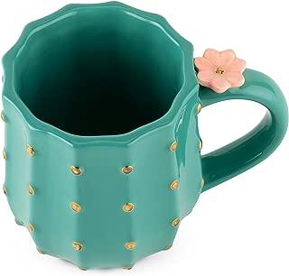 Pinky Up 6882 Cactus Mug, Green Set of 1