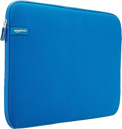 AmazonBasics 15.6-inch Laptop Sleeve - Internal Dimensions -15 X 0.4 X 11 Inches - Blue