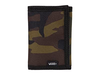 Vans Slipped Trifold Wallet (Classic Camo) Bill-fold Wallet