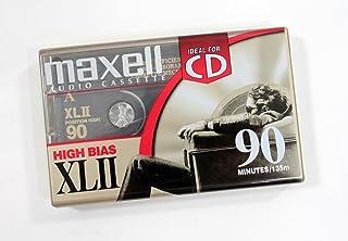 Maxell XL-II - Casete de Audio en Blanco de 90 Minutos