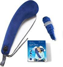Travelrest All-in-ONE Travel, Neck & Body Pillow - Attaches to Airline or Car Seat - Best for Airplane, Auto, Bus, Train &...
