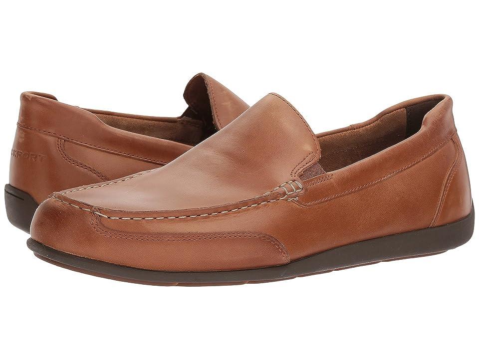 Rockport Bennett Lane 4 Venetian (New Caramel Leather) Men