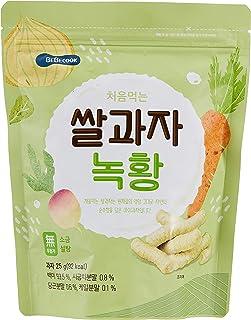 BeBecook Wise Moms Rice Snacks (Veggie) Organic, 25g