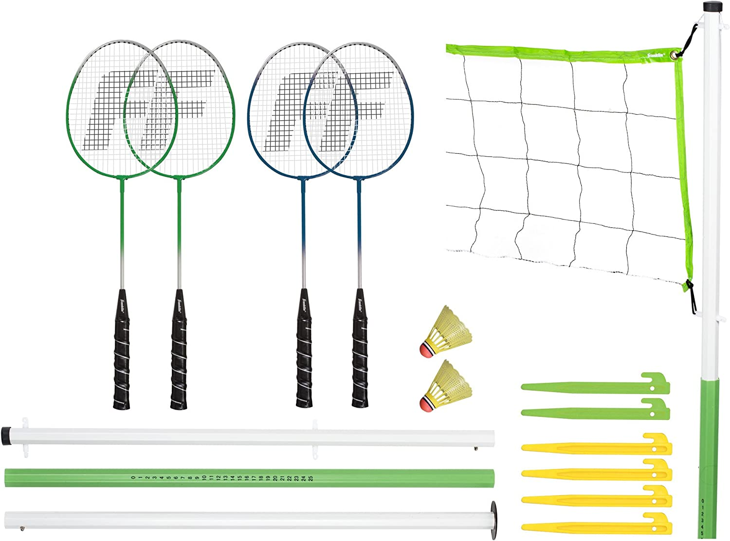 Franklin Badminton Volleyball Combo W  Carry Bag ( 50601 )