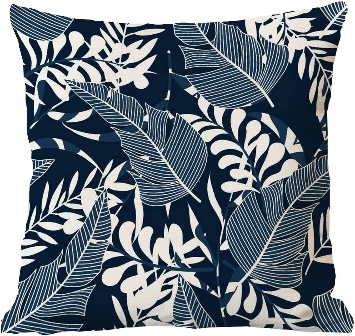 ArogGeld Tropical Bright Plants Denver Mall Leaves Throw Pillow Cove latest Outdoor