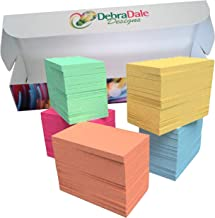 DEBRADALE DESIGNS Small Blank Study Flash Cards - 3.5