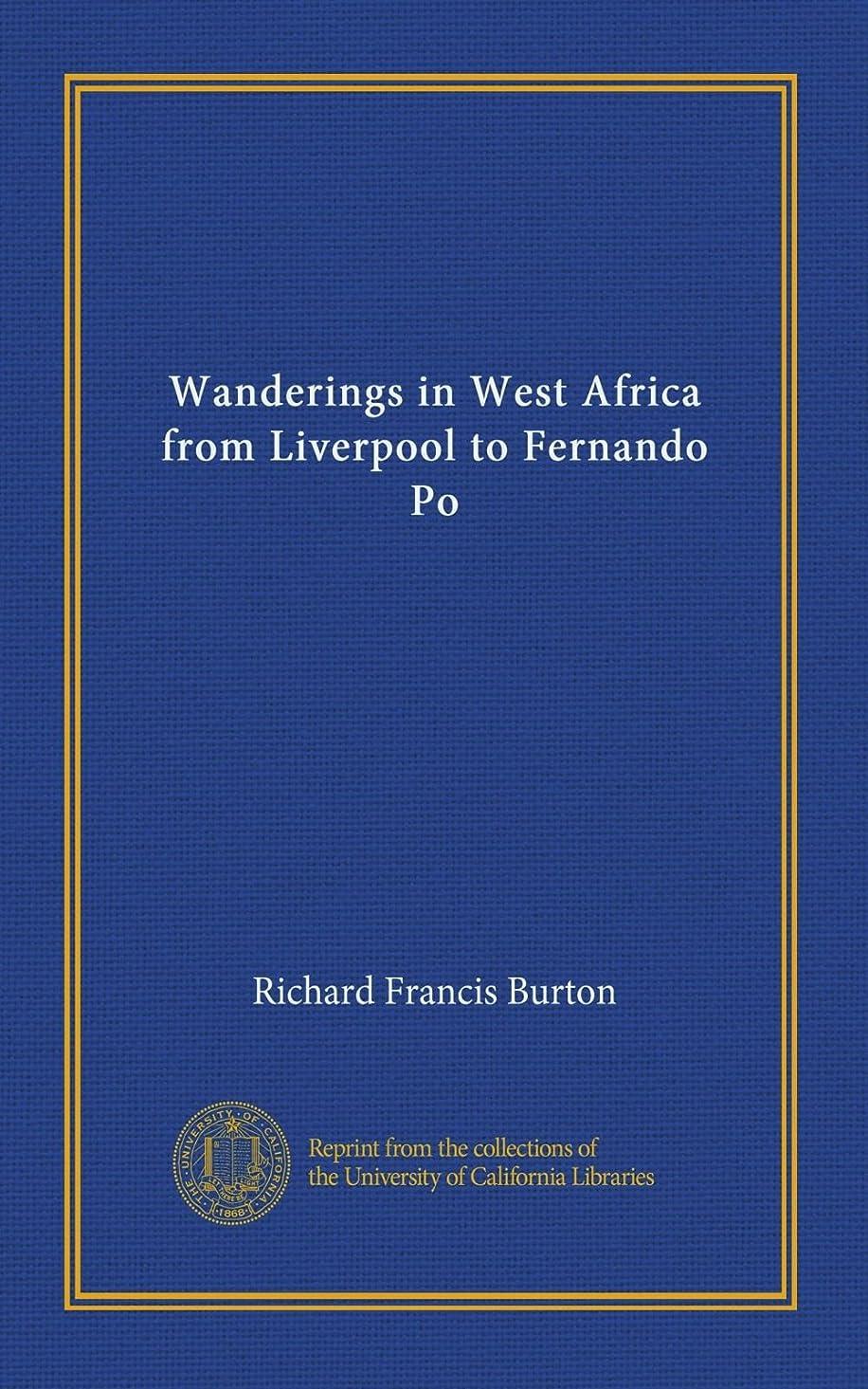 船員気をつけてコールWanderings in West Africa from Liverpool to Fernando Po (v.2)