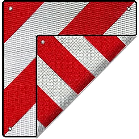 2in1 Rear Warning Sign Spain And Italy Motorhome Signal Reflector Towing Bike Rack Caravan Auto