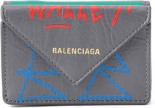 バレンシアガ(BALENCIAGA) 3つ折り財布 391446 0FE3T 1570 ペーパー グレー/マルチ [並行輸入品]