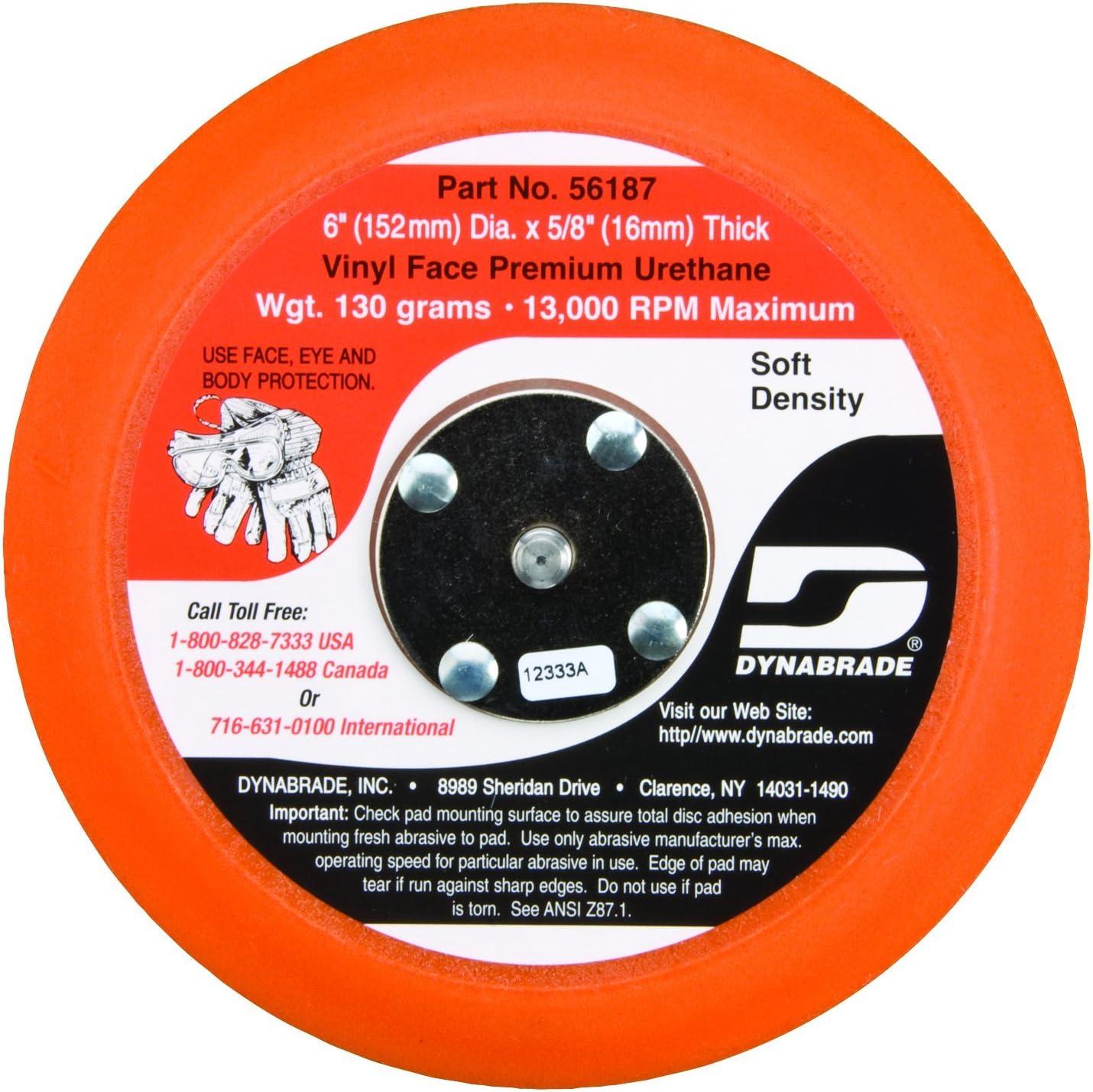 Max 73% OFF Dynabrade 56187 Non-Vacuum Disc 5% OFF Diameter 6-Inch Pad