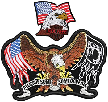 Eagle FACE Embroidered Patch iron on Sew On Applique Badge jacket jeans applique trasfer A-79