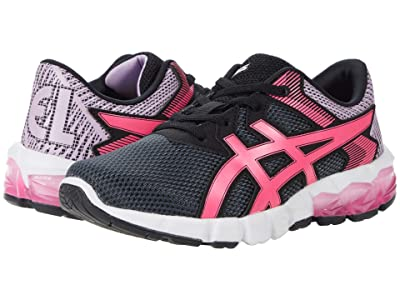 ASICS Kids GEL-Quantum 90 2 (Toddler/Little Kid) (Carrier Grey/Hot Pink) Girls Shoes