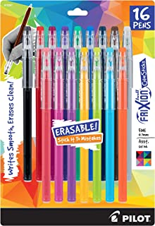 PILOT Frixion Erasable Gel Pens, Fine Point (.7) 16-Pack Assorted Color Inks - FRX10367