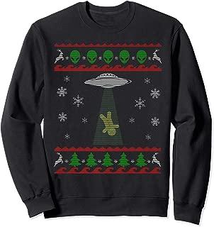 Ugly Christmas Style Alien Gingerbread Funny Xmas Sweatshirt