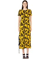 Prabal Gurung - Large Floral Fil Coupe Dress