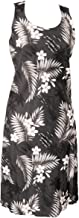 product image for Paradise Found Womens Island Breeze Short Tank Dress Black S