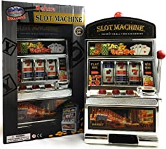 Matty's Toy Stop Deluxe Lucky 7's Slot Machine Bank with Jackpot Sound & Flashing Lights