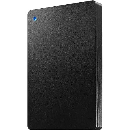 I-O DATA ポータブルHDD 2TB USB 3.1 Gen1/バスパワー/PC/Mac/薄型/静音/故障予測 日本製 土日サポート HDPH-UT2KR/E