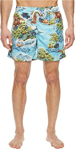 Polyester Traveler Shorts