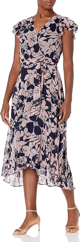 Jessica Howard Women's Faux Wrap Dress
