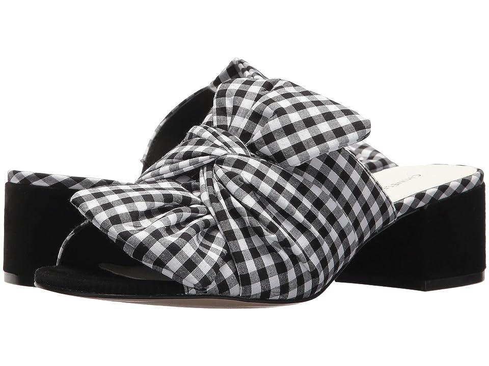 Chinese Laundry Marlowe Sandal (Black/White Gingham) Women