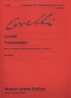 Triosonaten Op. 1 Und Op. 3 Band 1