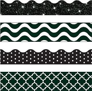 TREND enterprises, Inc. Black & White Terrific Trimmers, Variety Pack