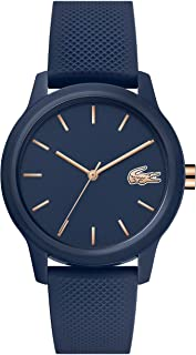 Lacoste Womens Quartz Watch, Analog Display and Silicone Strap 2001067