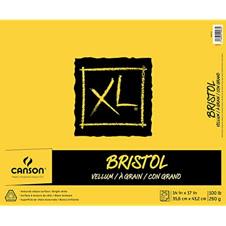 100510930 98 lb Canson XL Mix-Media Paper 14 x 17 Inches 60 Sheets Renewed