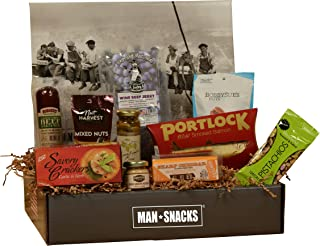ManSnacks - WINE SNACKS - A Manly Assortment Of Food And Gear For The Wine Lover, All Packed In A Fun, Manly Gift Box. It'...