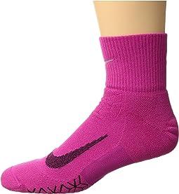 Nike Elite Cushion Quarter Running Socks