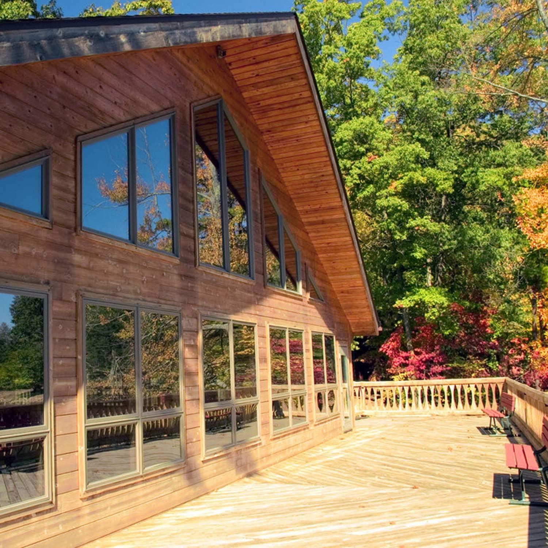 ZJELKY Fensterfolie Sonnenschutzfolie Fenster innen Spiegelfolie Fensterfolie selbsthaftend Blickdicht Fensterfolie Sonnenschutz hitzeschutz Sichtschutzfolie 2Pack 60x200cm+2Pack 60x400cm