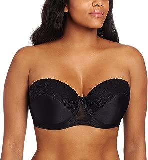 Women's Full Figure Strapless Lace Bra