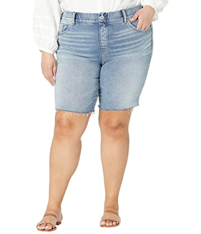 Jag Jeans Plus Size Valentina High-Rise Pull-On Shorts (Virginia Beach) Women