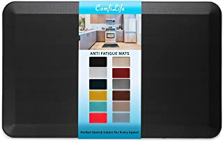 ComfiLife Anti Fatigue Floor Mat – 3/4 Inch Thick Perfect Kitchen Mat, Standing Desk Mat – Comfort at Home, Office, Garage...