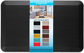 ComfiLife Anti Fatigue Floor Mat - Perfect Kitchen Mat, Standing Desk Mat - Comfort at Home, Office, Garage - Durable - St...