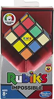Rubik's Impossible Puzzle; Original Product; 3 x 3 Lenticular Puzzle Cube Color Change Puzzle for Kids Ages 8 and Up (E8069)