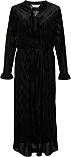 Studio Untold Women's Plus Size Velvet Striped Dress 720026